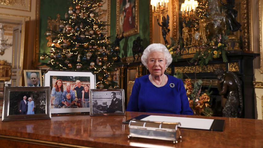 Queen Elizabeth II. bei ihrer Weihnachtsansprache 2019