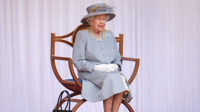 Queen Elizabeth II. bei ihrer Geburtstagsparade Trooping the Colour 2021