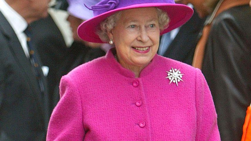 Queen Elizabeth II. in Southampton, 2004