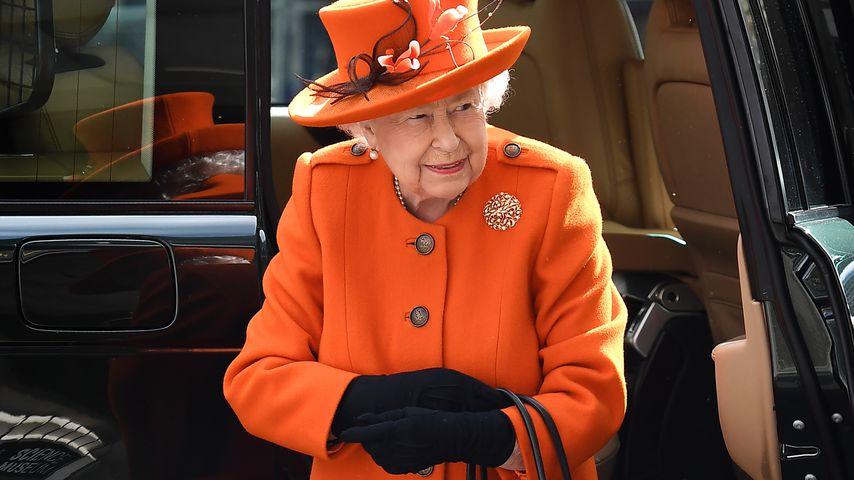 Queen Elizabeth II. in London, 2019