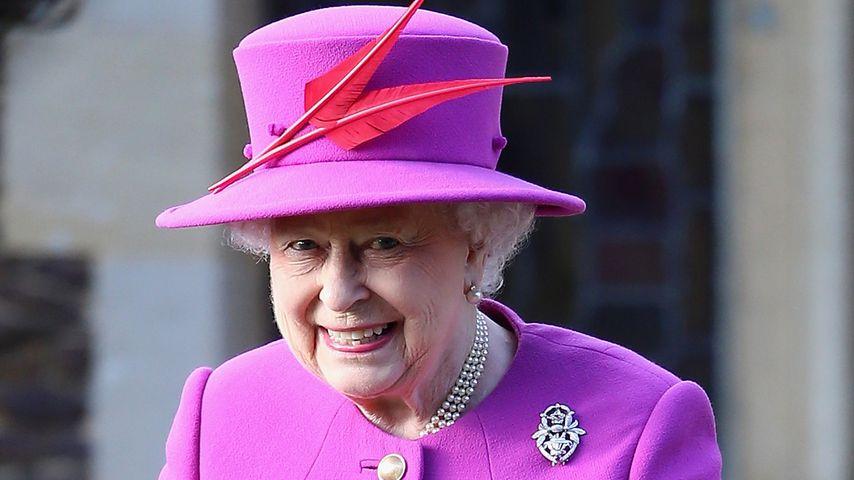 Queen Elizabeth II. im Dezember 2014 in King's Lynn