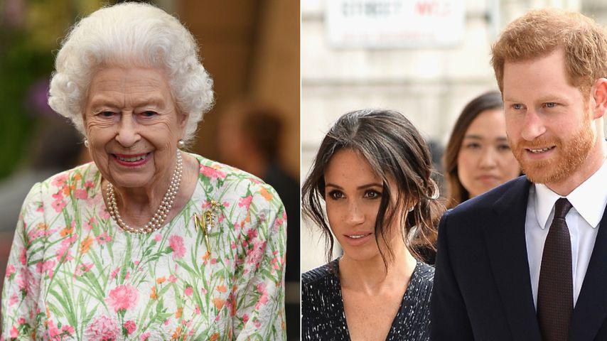 70-jähriges Thronjubiläum: Die Queen lädt die Sussexes ein!