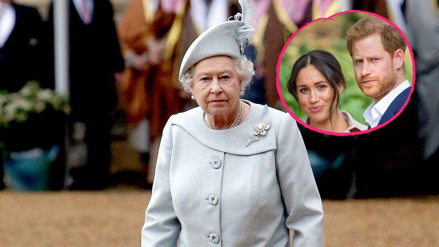 """""""Erschüttert"""": So soll es der Queen nach Meghan-Talk gehen!"""