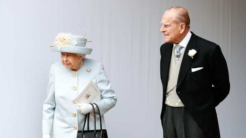 Prinz Philip mit seiner Gattin Queen Elizabeth II. im Oktober 2018
