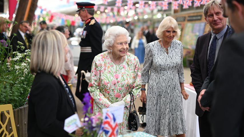 Queen Elizabeth II. und Herzogin Camilla im Juni 2021