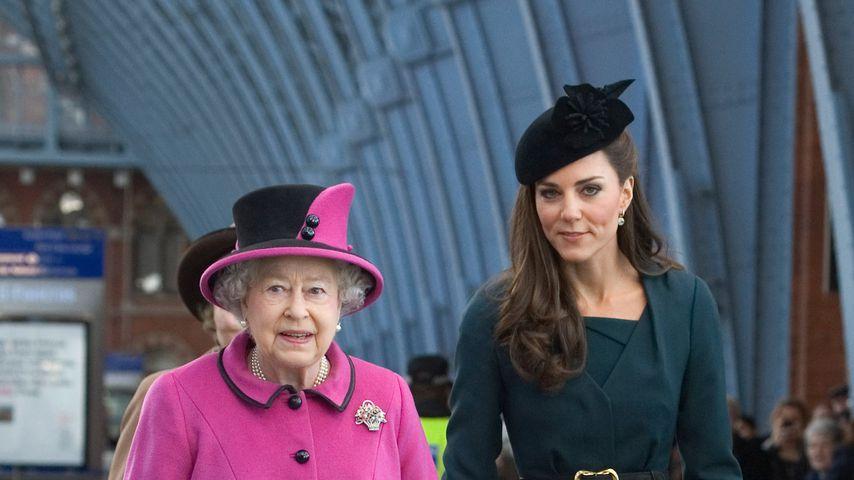 Hat die Queen etwa kein enges Verhältnis zu Herzogin Kate?