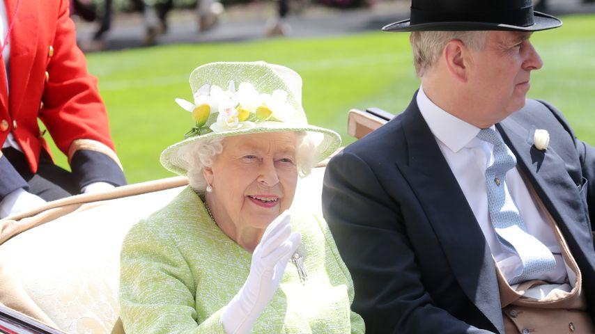 Queen Elizabeth II. und Prinz Andrew, 2019