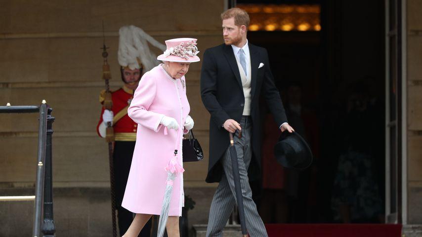 Prinz Harry: Mit der Queen von einem Termin zum nächsten