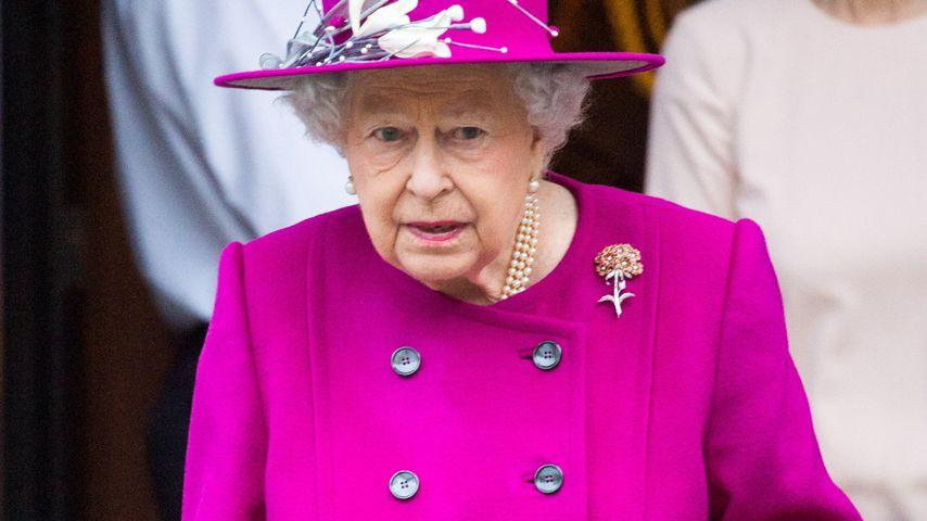 Queen Elizabeth im British Museum in London