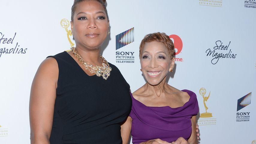 Queen Latifah mit ihrer Mutter Rita Owens
