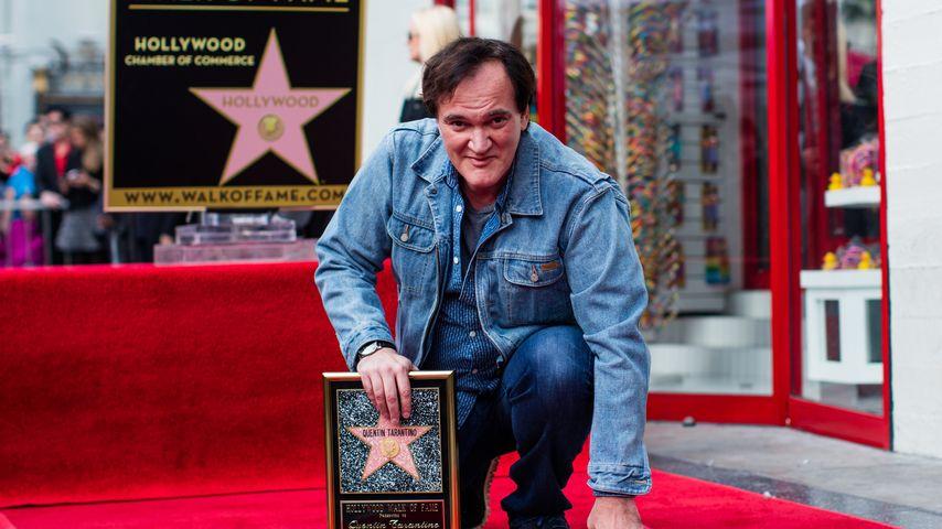 Quentin Tarantino und sein Stern auf dem Walk of Fame
