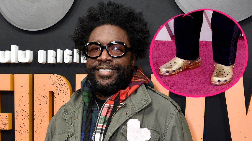 Fashion-Fail? Questlove kommt mit Crocs zu den Oscars