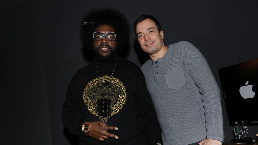 Questlove und Jimmy Fallon, März 2010