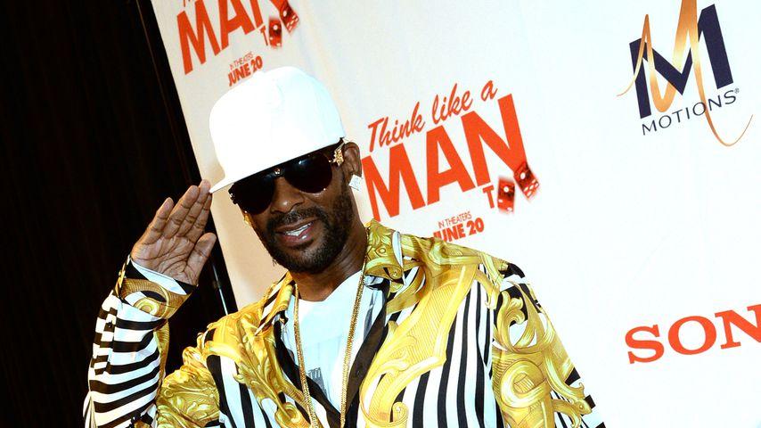 """R. Kelly bei einem Screening von """"Think Like Man Too"""" 2014"""