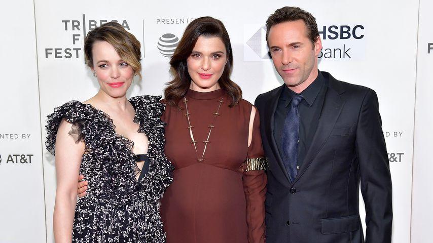 Rachel McAdams, Rachel Weisz und Alessandro Nivola beim Tribeca Film Festival