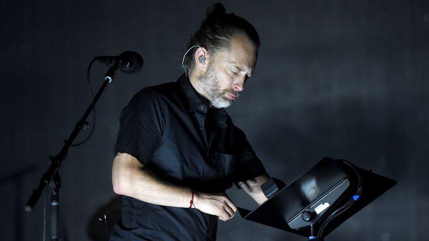 Radiohead beim Coachella-Festival 2017