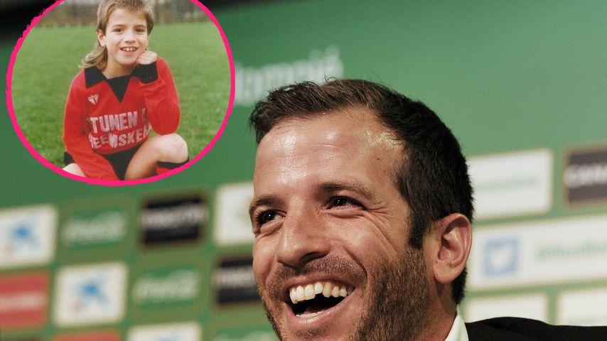 Süßer Vokuhila: Das ist tatsächlich Rafael van der Vaart!