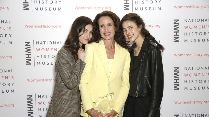 Rainey Qualley, Andie MacDowell und Margaret Qualley