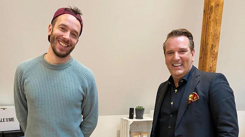 Online-Marketing-Rockstars-Gründer Philipp Westermeyer und Ralf Dümmel im Oktober 2020