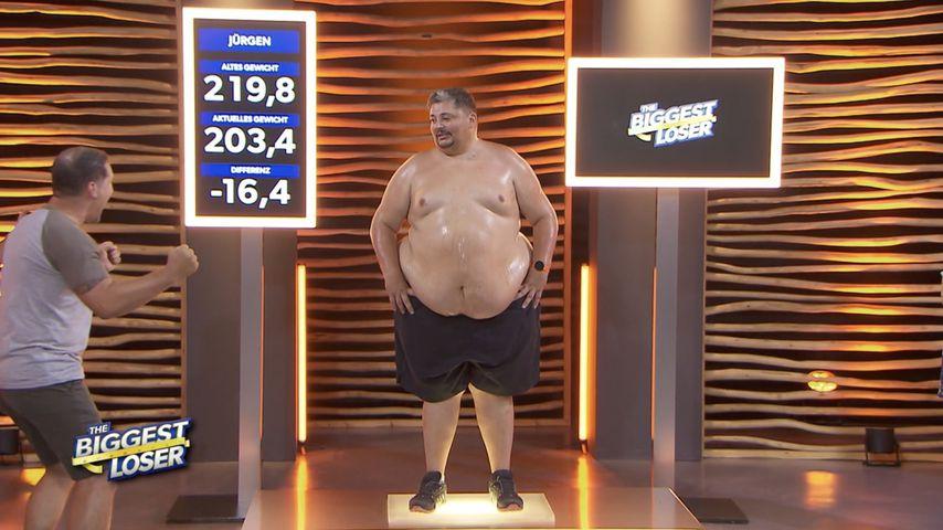 """200 Kilo schwer: """"The Biggest Loser""""-Jürgen fühlt sich wohl"""