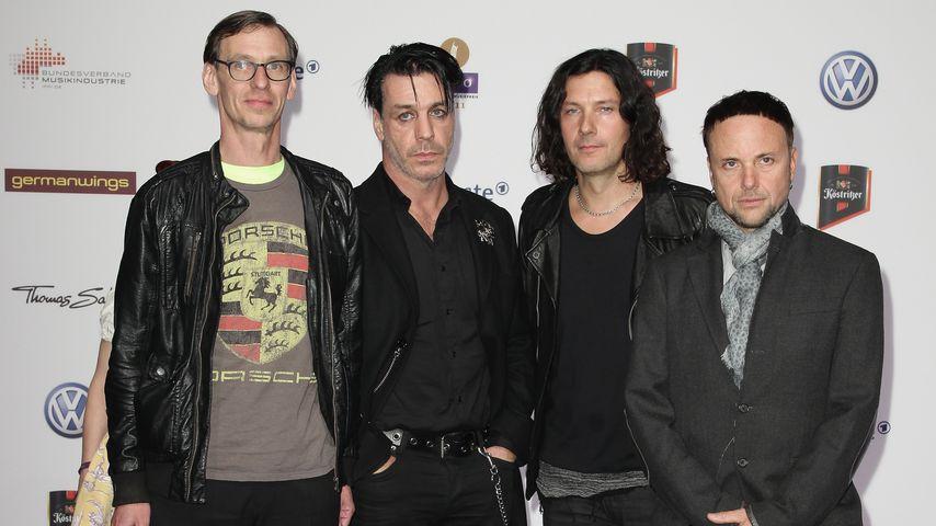 Rammstein auf dem Echo 2011