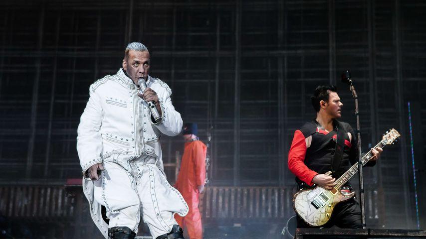 Rammstein bei einem Auftritt in Dänemark 2017