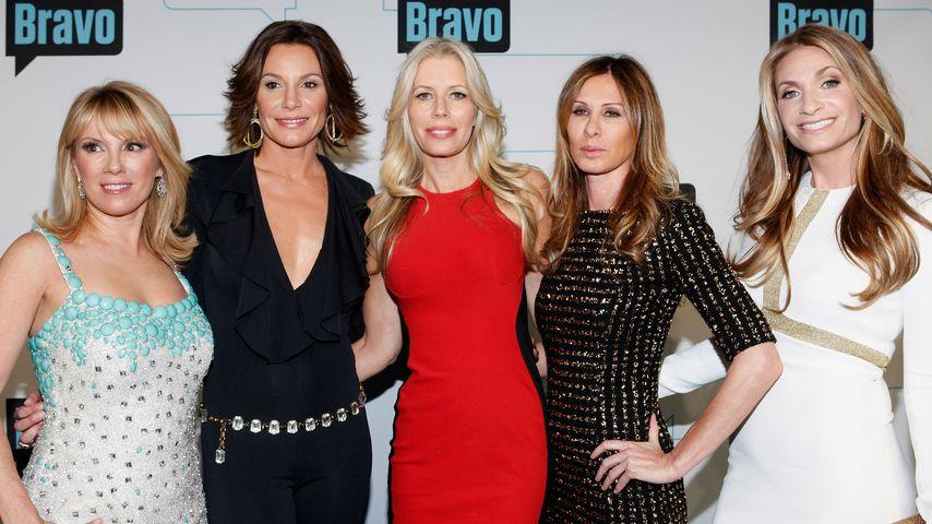 Ramona Singer, Luann de Lesseps, Aviva Drescher, Caroline Radzwill und Heather Thomson (v.l.)