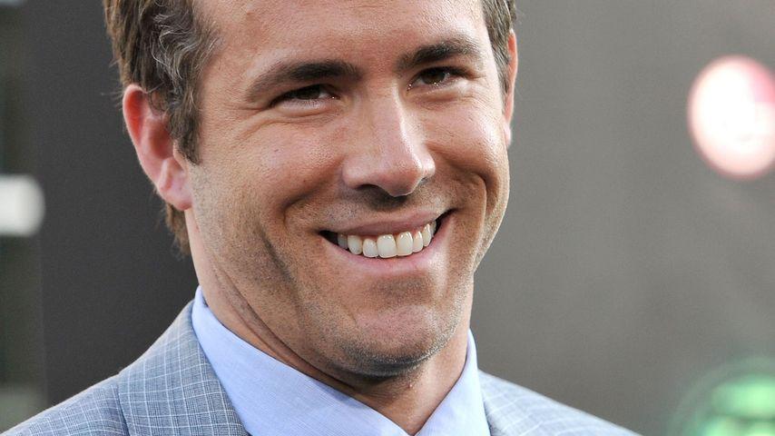 Ryan Reynolds hat allen Grund zum Feiern