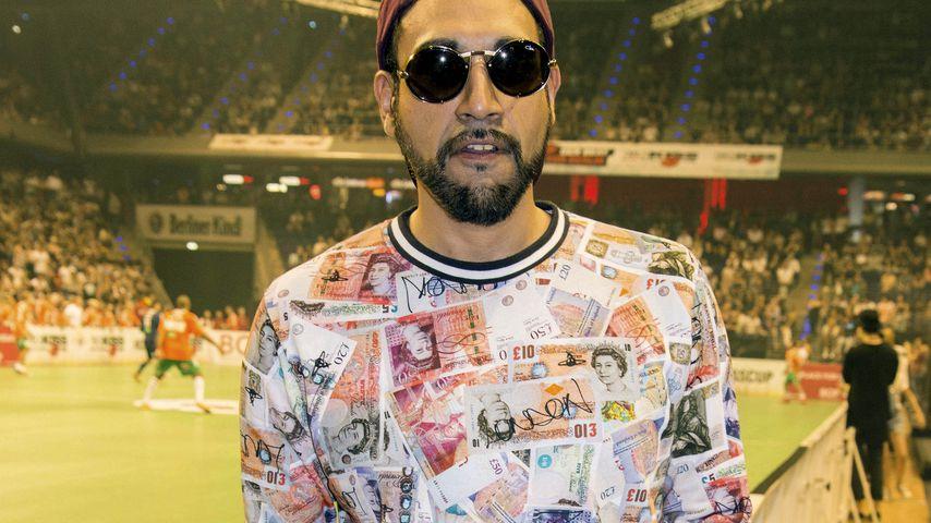 Rapper Ali As auf dem Kiss Cup 2016 in Berlin