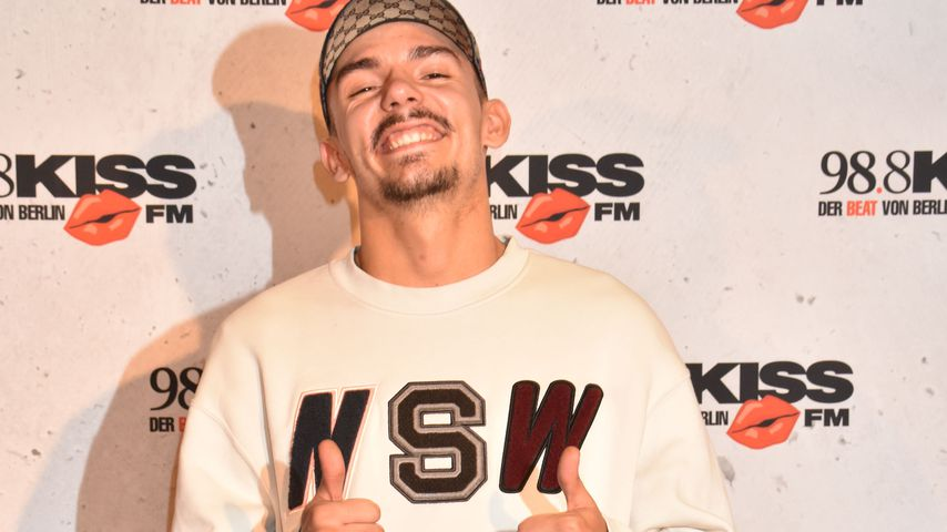 Rapper Capital Bra auf dem Kiss Cup 2018 in Berlin