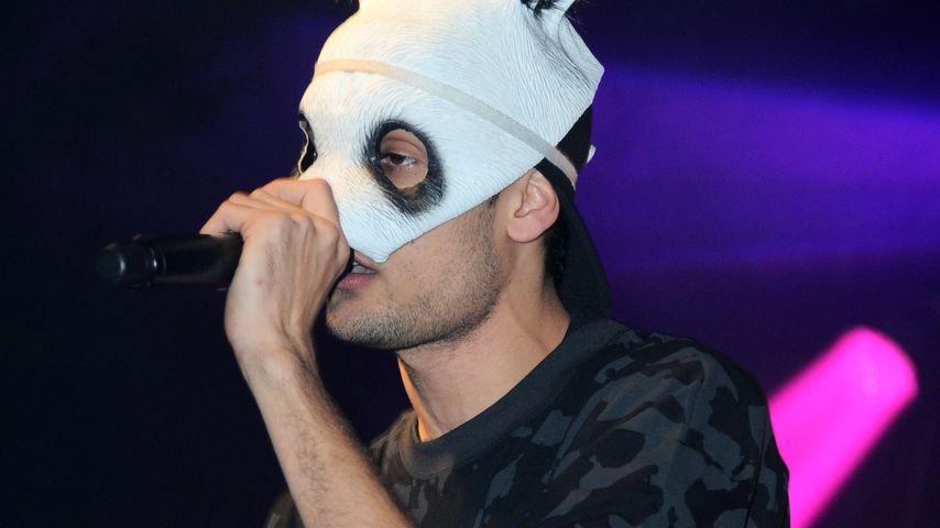 Rapper Cro während eines Auftritts