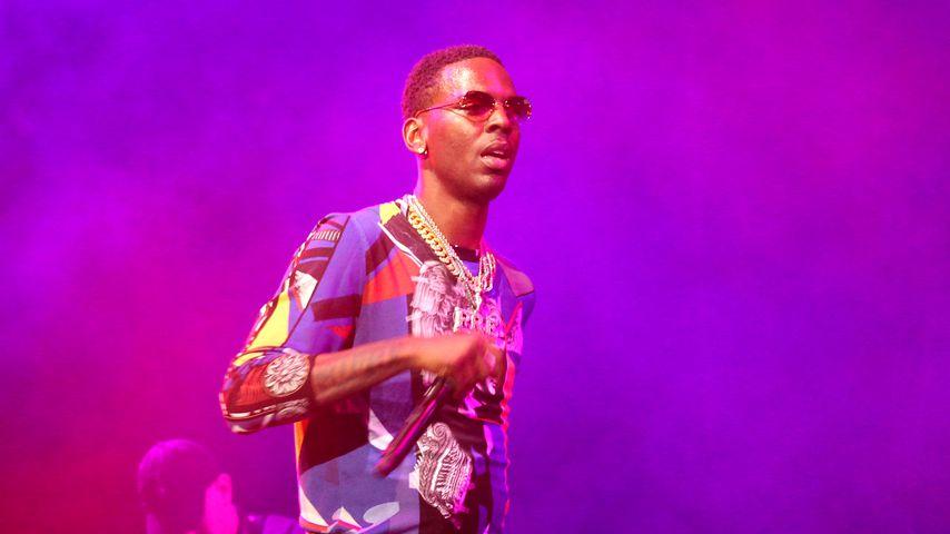Rapper Young Dolph bei einem Konzert