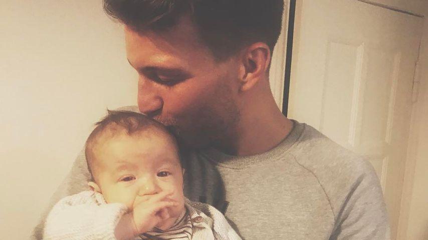 Vaterwunsch? Raúl Richter postet Foto mit süßem Baby!