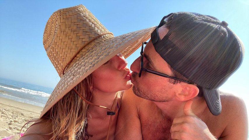 Reality-TV-Star Ashley Jacobs und ihr Mann Mike Appel