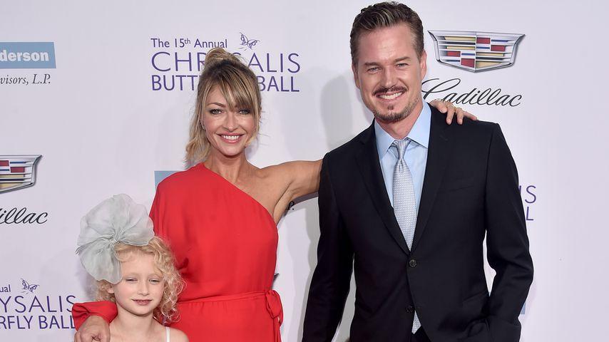 Rebecca Gayheart und Eric Dane mit ihren Töchtern, Juni 2016