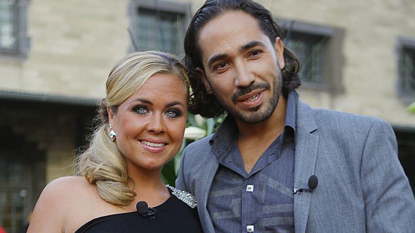Rebecca Kratz mit ihrem Mann Julio