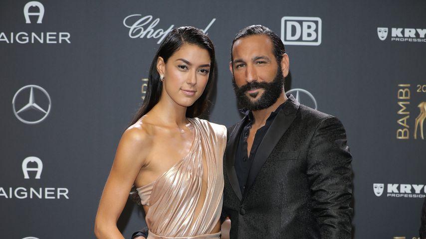 Rebecca Mir und Massimo Sinató im November 2018