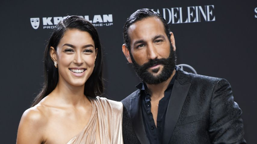 Rebecca Mir und Massimo Sinató bei der Bambi Verleihung 2018 in Berlin