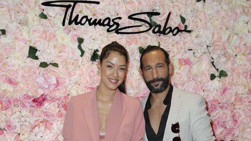 Rebecca Mir und Massimo Sinató beim Thomas Sabo Magic Garden Cocktail