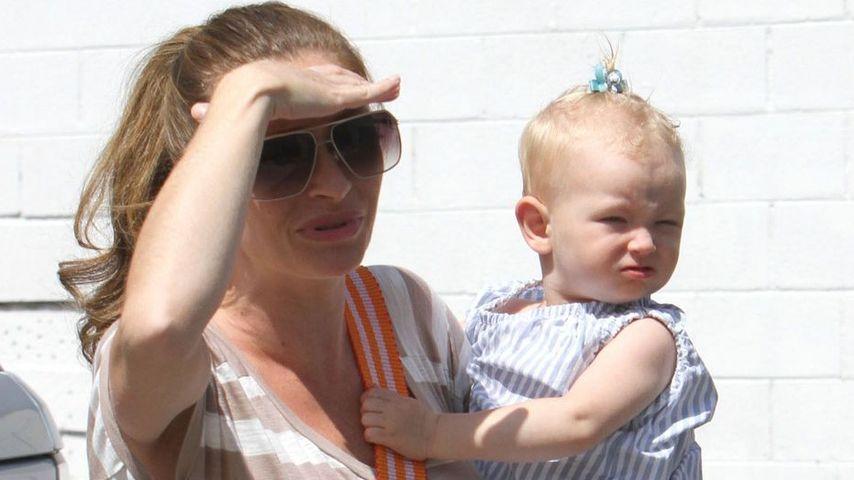 Süß: Eric Danes Tochter Billie trägt schon Zopf