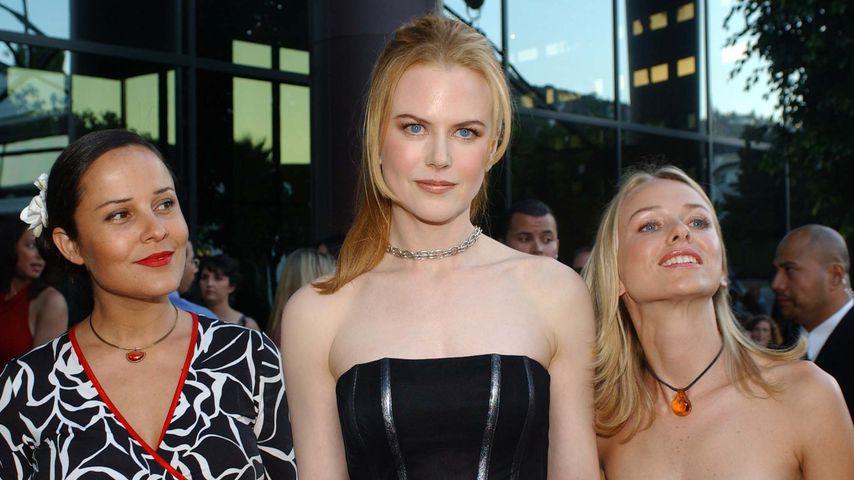 Rebecca Rigg, Nicole Kidman und Naomi Watts, 2001