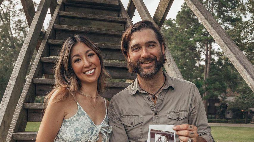 Rebecca Robertson Loflin und ihr Mann im Juli 2021