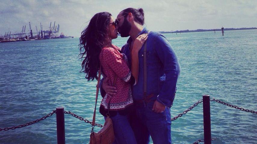 Im Ehe-Glück: So verliebt zeigen sich Rebecca & Massimo