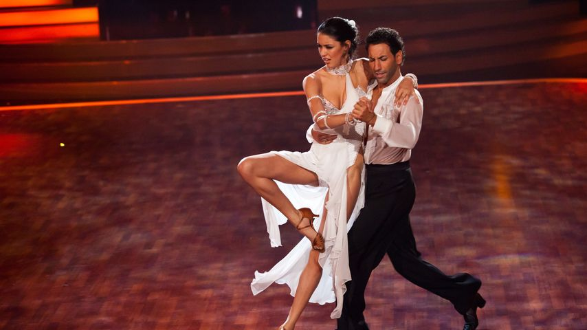 """Rebecca Mir und Massimo Sinató bei """"Let's Dance"""""""