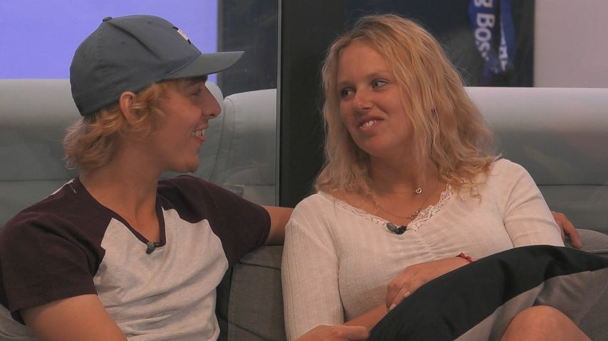 "Rebecca und Tim bei ""Big Brother"", April 2020"