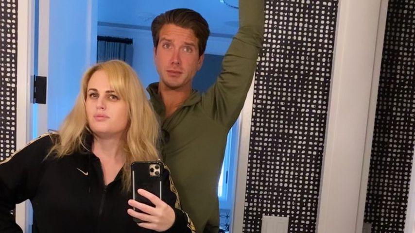 Rebel Wilson mit ihrem Freund Jacob Busch
