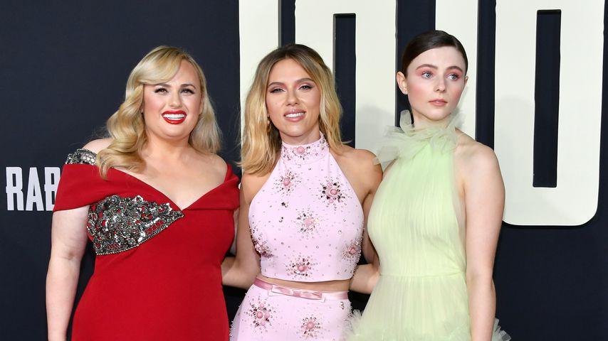 """Rebel Wilson, Scarlett Johansson und Thomasin McKenzie bei der """"Jojo Rabbit""""-Premiere in Los Angeles"""