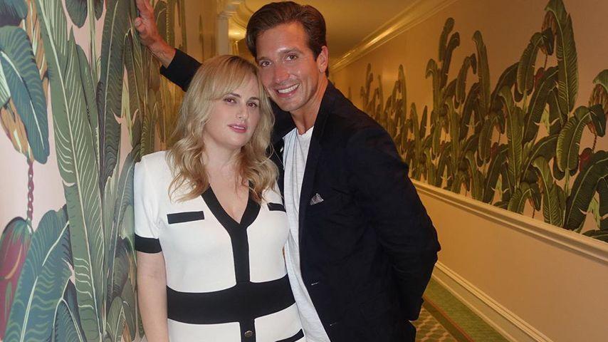 Rebel Wilson mit ihrem Partner Jacob Busch