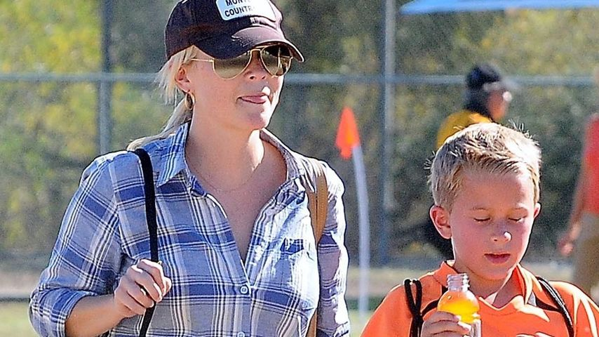 Reese Witherspoon: Fußball-Date mit Sohn Deacon