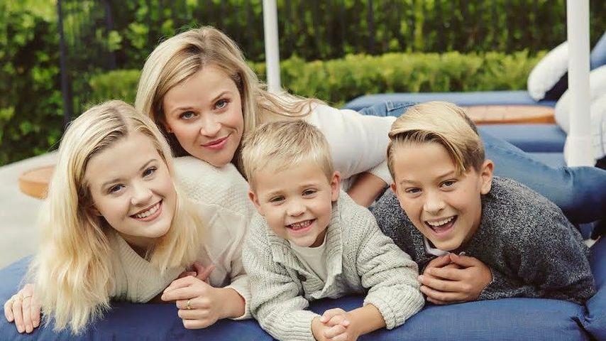 Reese Witherspoon und ihre drei Kinder Ava, Deacon und Tennessee im Mai 2017